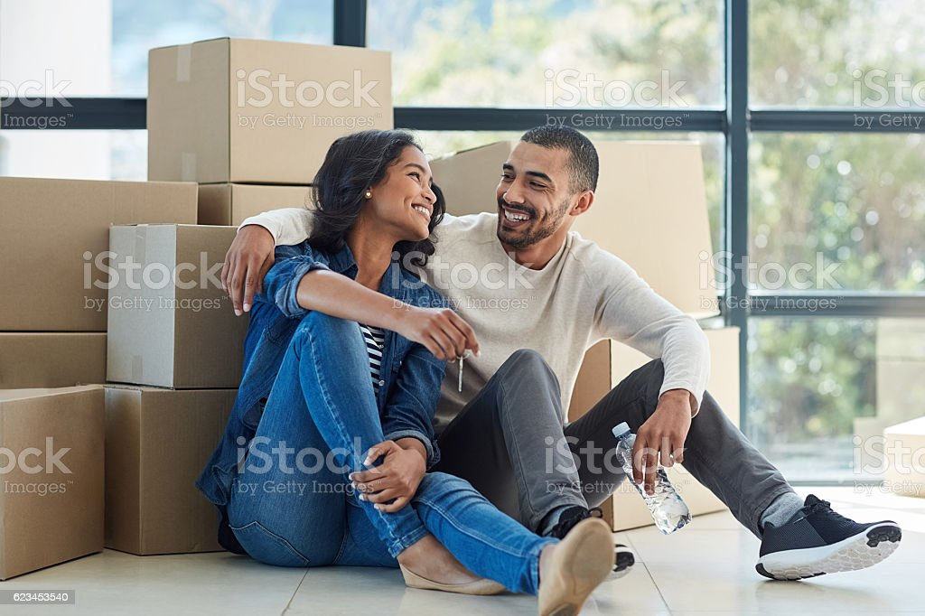 Happiness is homemade stock photo