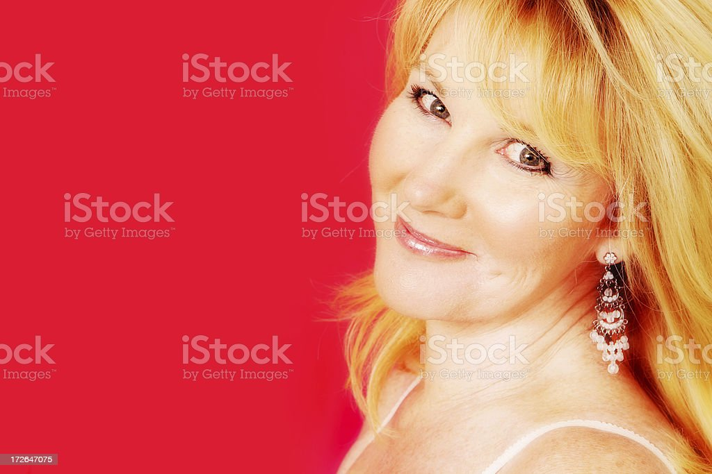 Happiness is.... stock photo