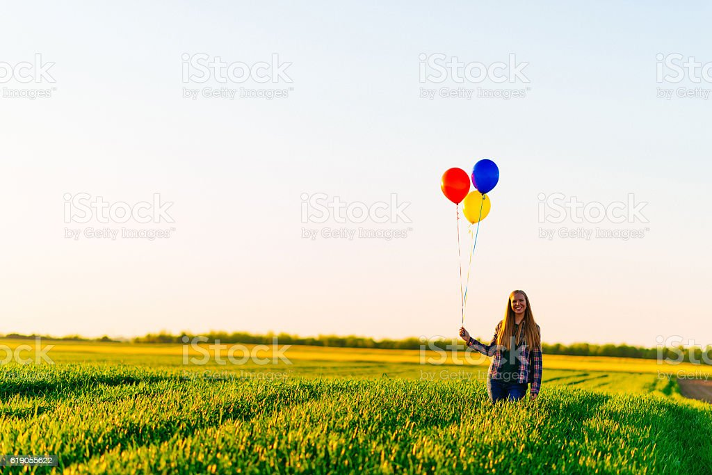 Happiness is simple stock photo