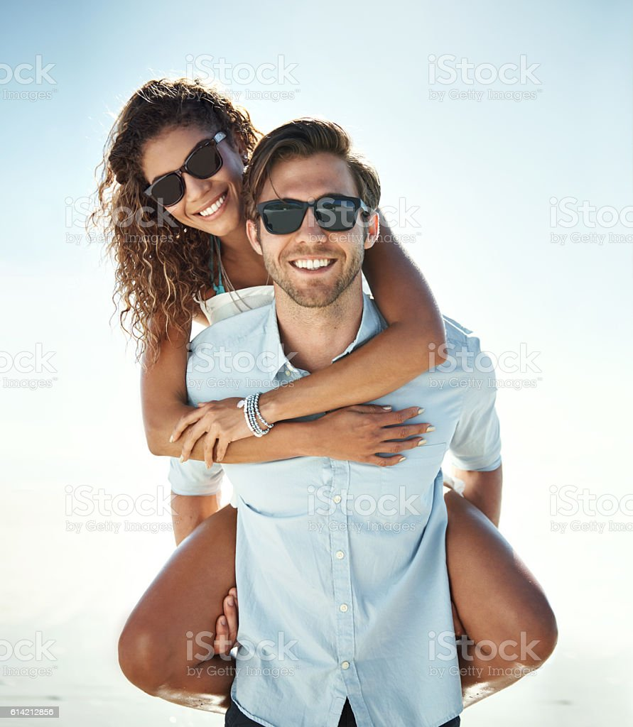 Happiness is...this stock photo