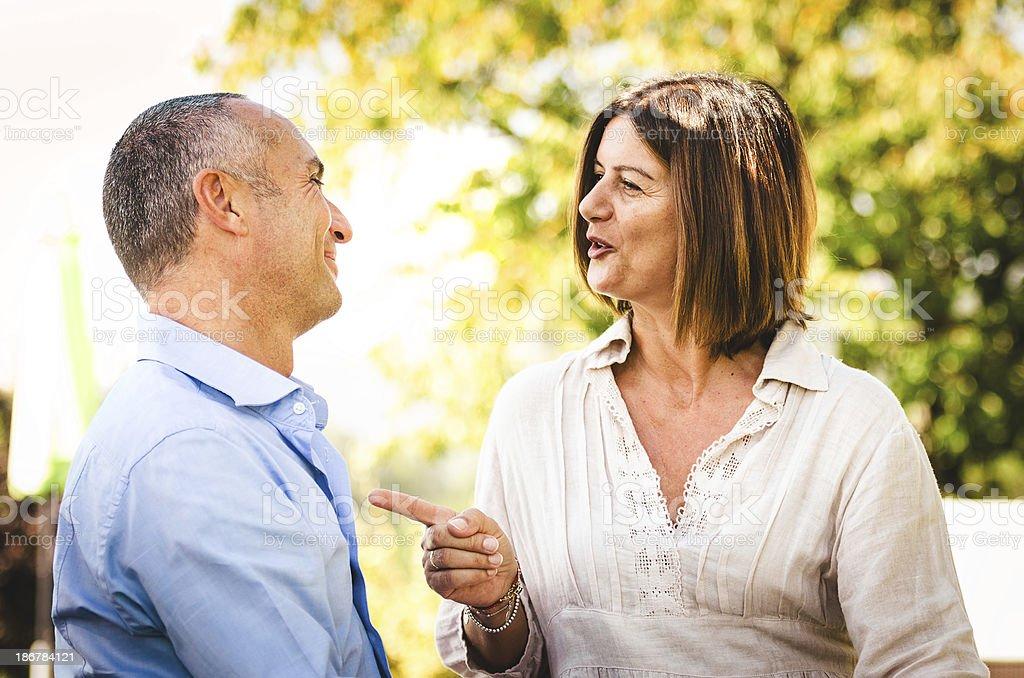 happiness mature couple royalty-free stock photo