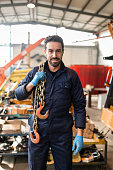 happiness mechanic on a garage