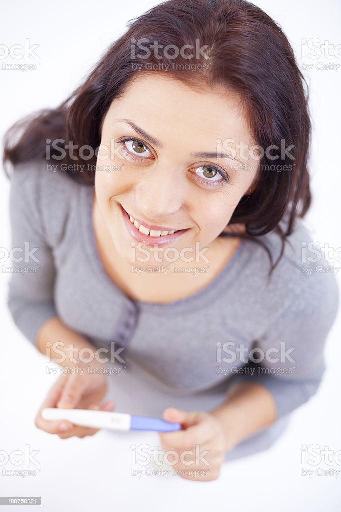 Happiness Of Being A Mom royalty-free stock photo
