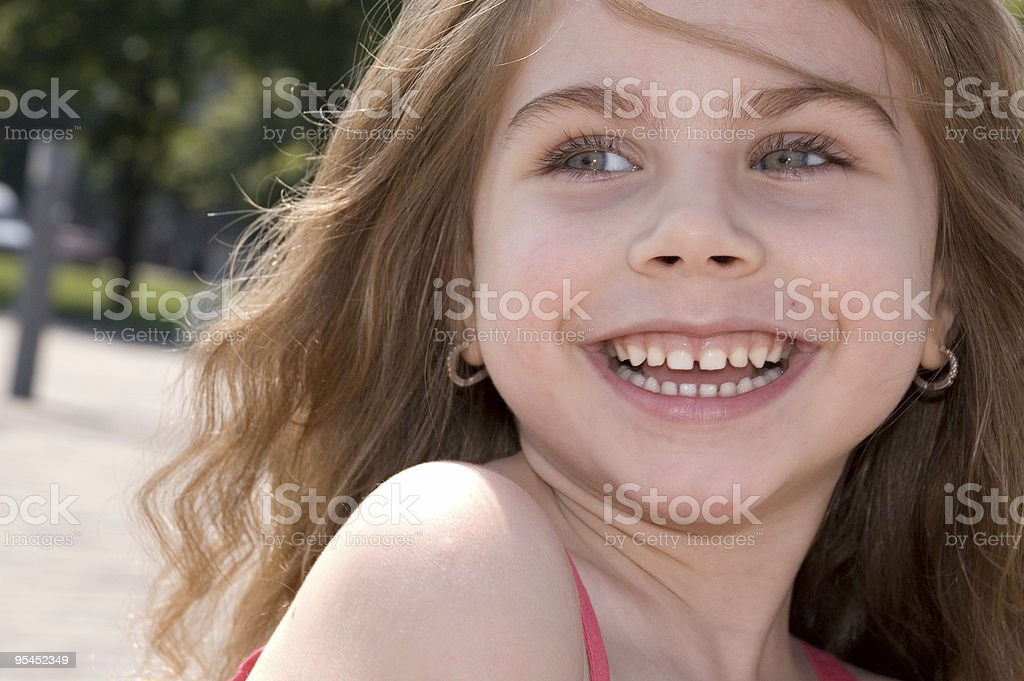 happiness of childhood stock photo
