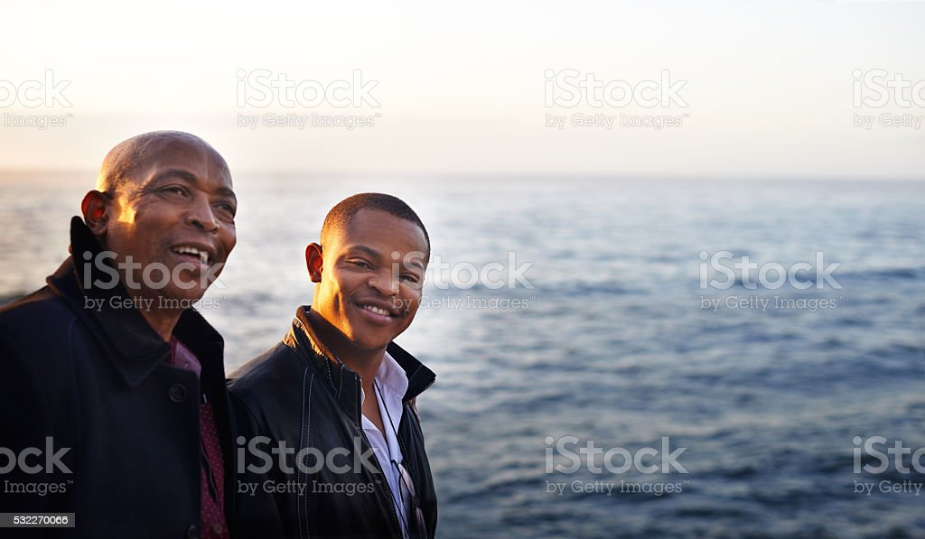 Happiness runs in the family stock photo