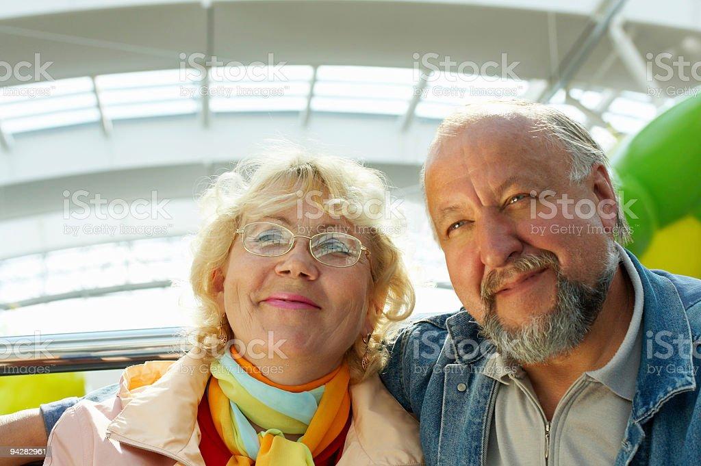 Happiness seniors royalty-free stock photo