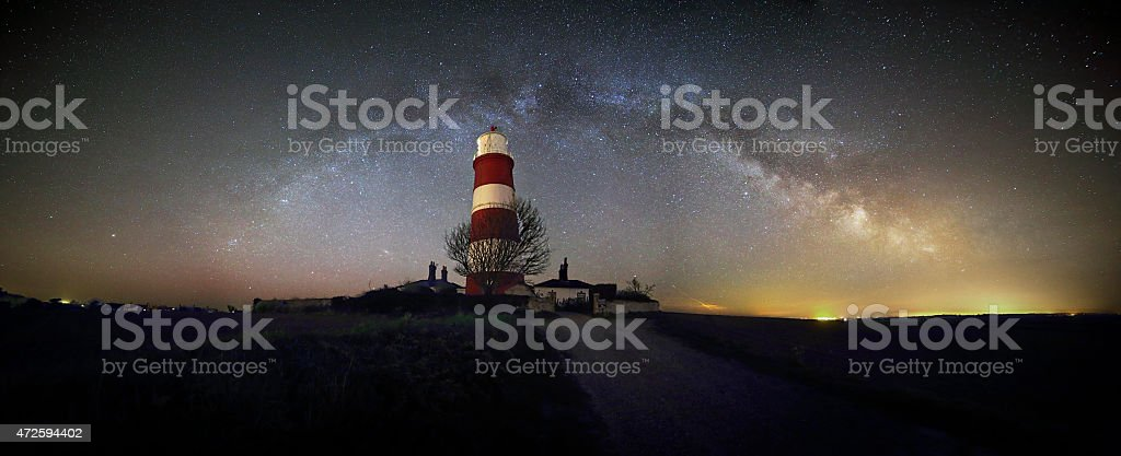 Happisburgh Lighthouse stock photo
