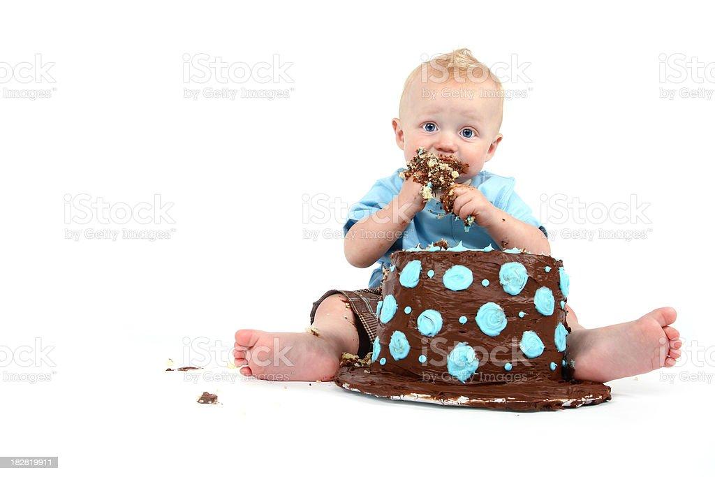 Happy 1st Birthday stock photo