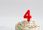 Happy 4th Birthday Cupcake!