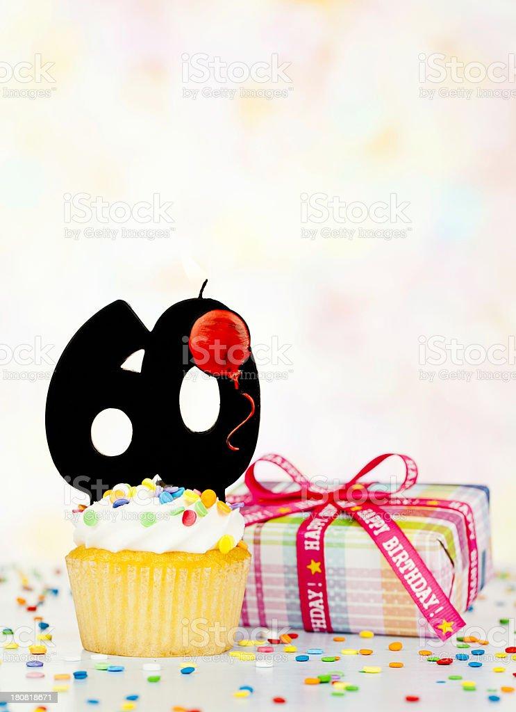 Happy 60th Birthday stock photo