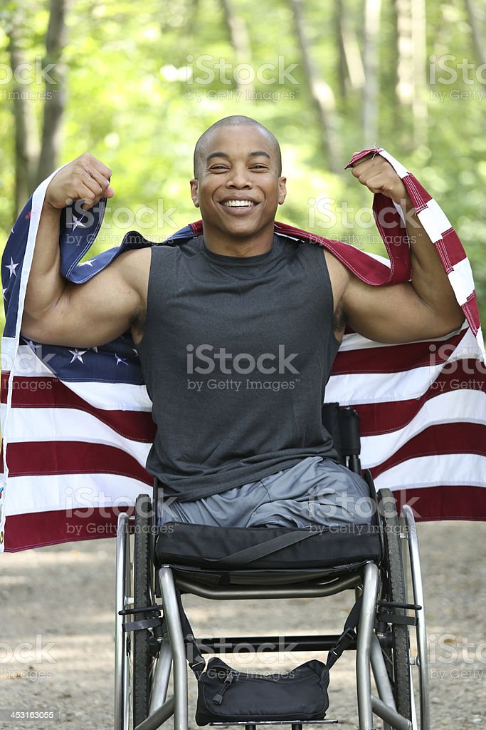 happy american stock photo