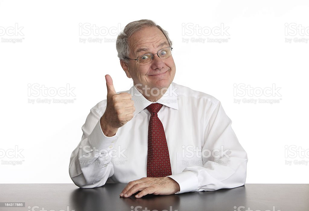 Happy and Positive royalty-free stock photo