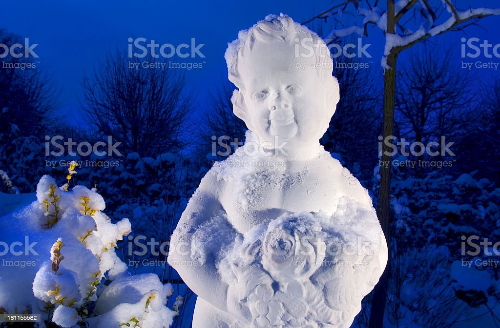 Happy Angel royalty-free stock photo