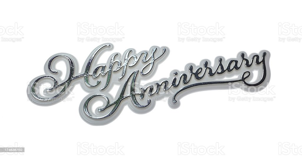Happy Anniversary stock photo