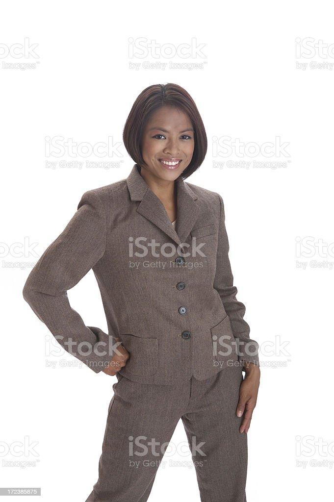 Happy Asian Professional royalty-free stock photo
