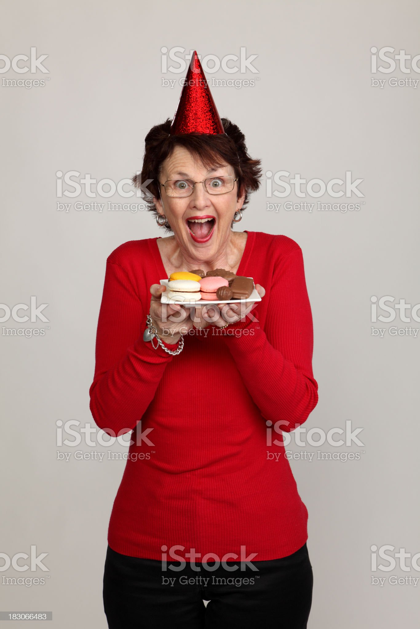 Happy at Party royalty-free stock photo