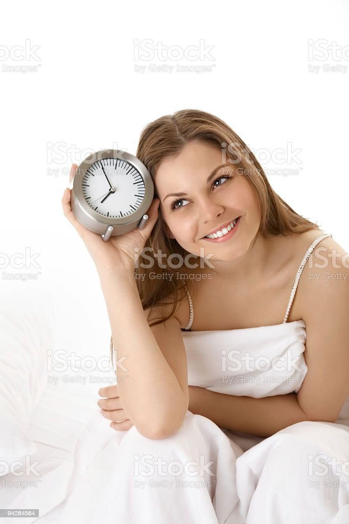 Happy awakening royalty-free stock photo