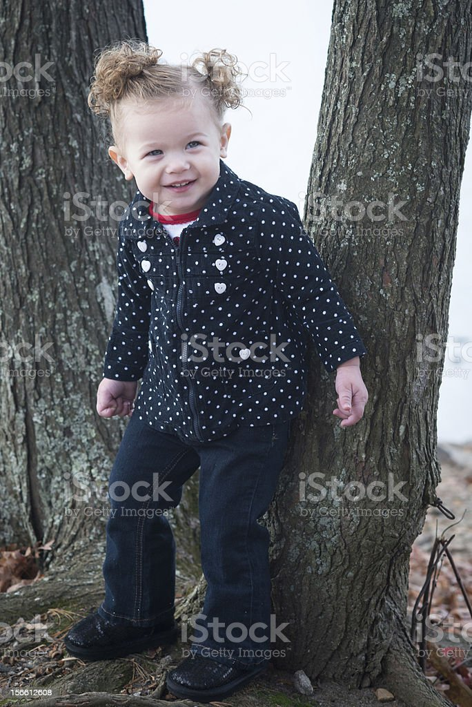 Happy Baby Girl royalty-free stock photo
