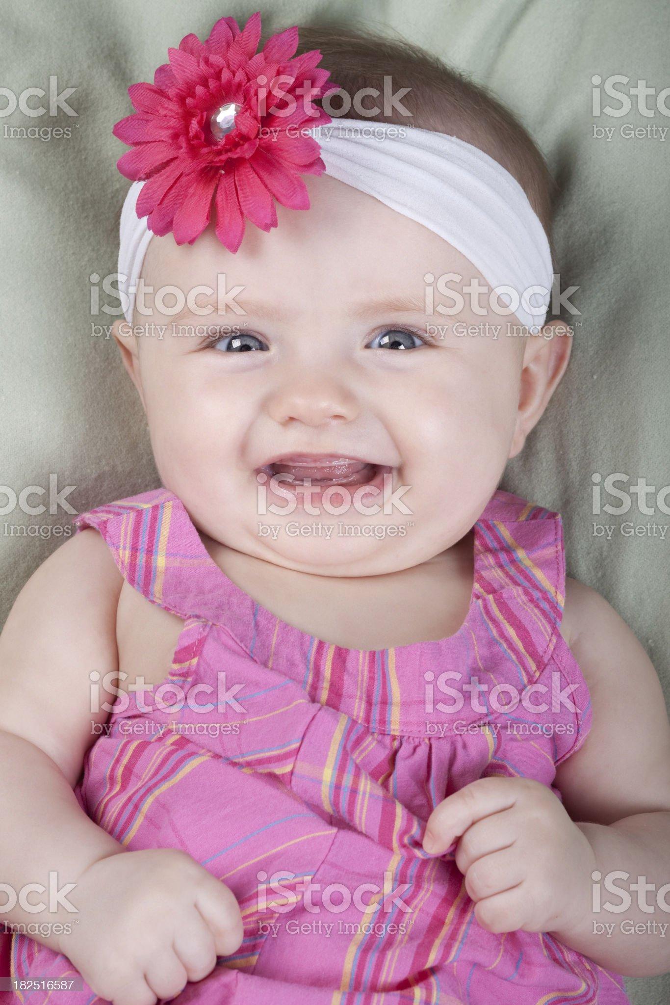 Happy Baby Girl royalty-free stock photo