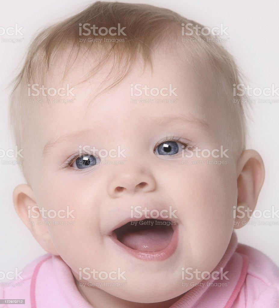 Happy Baby Smiling royalty-free stock photo