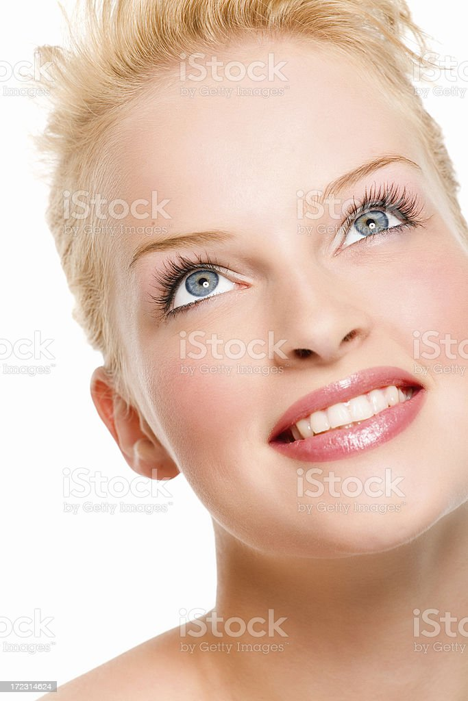 Happy Beauty royalty-free stock photo