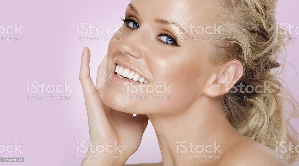 Happy Beauty royalty-free stock photo
