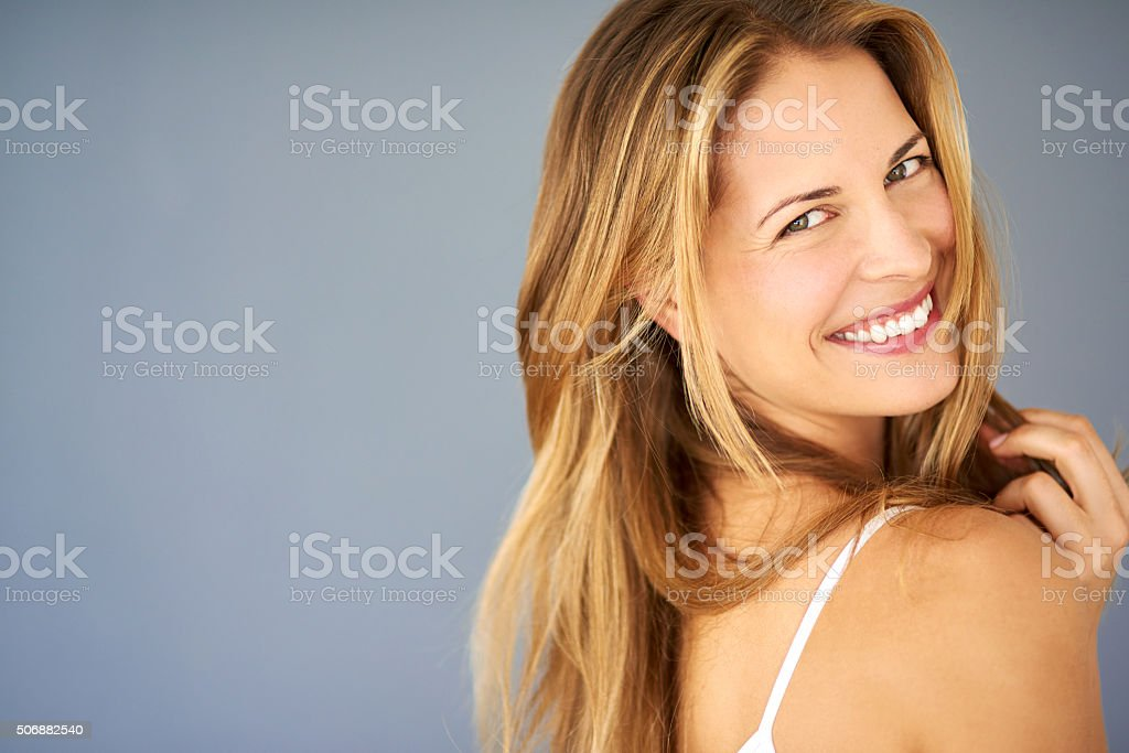 Happy because I choose to be stock photo