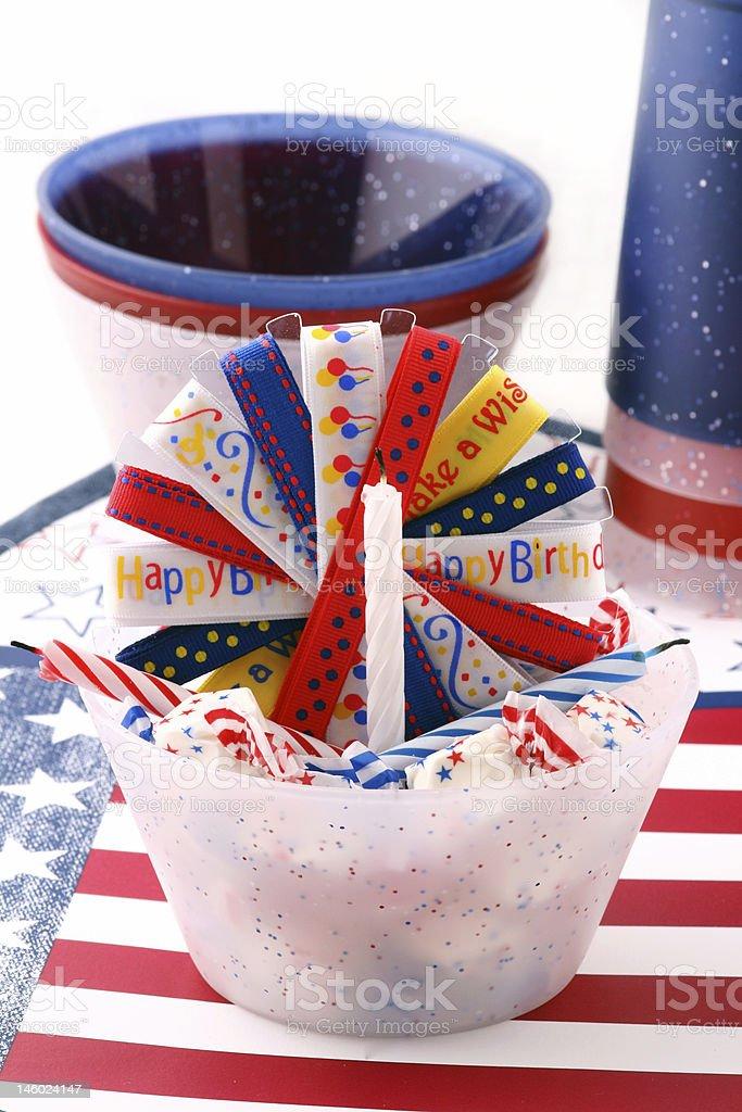 Happy Birthday America royalty-free stock photo