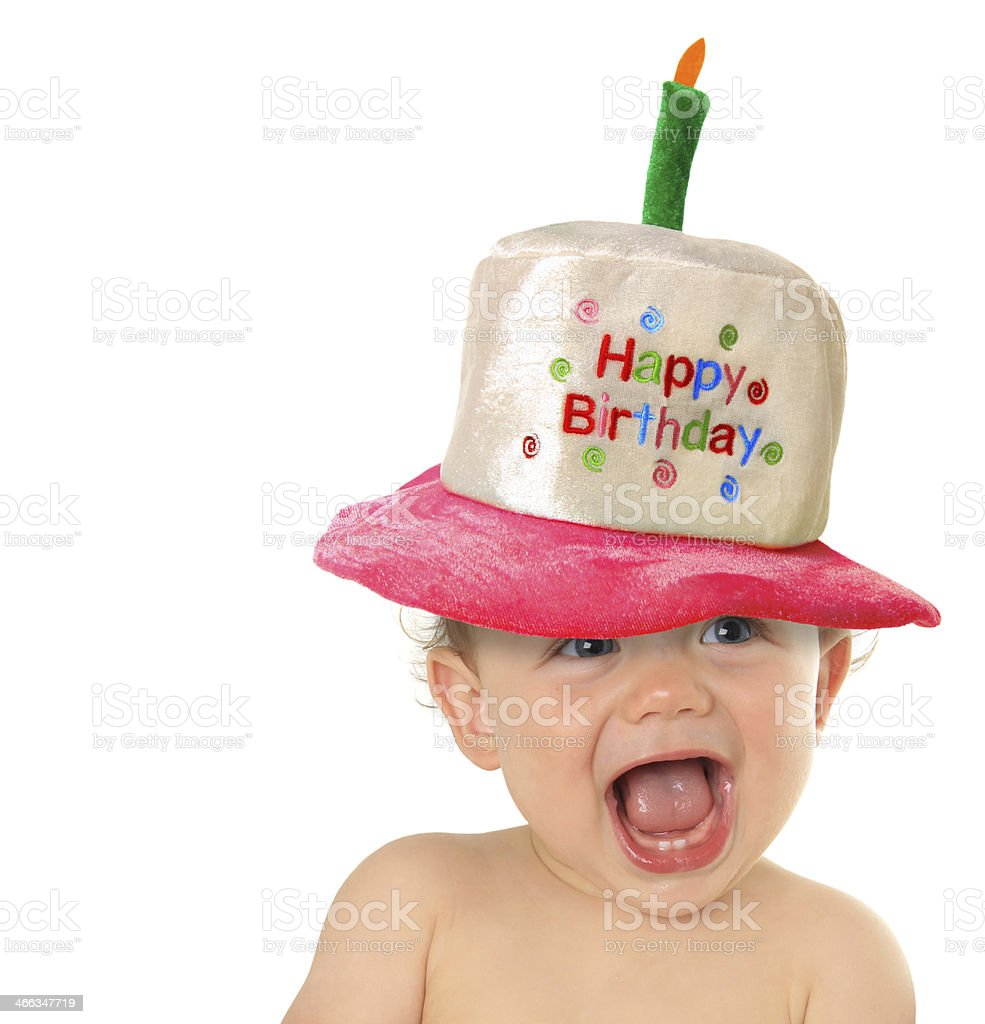 Happy Birthday baby stock photo