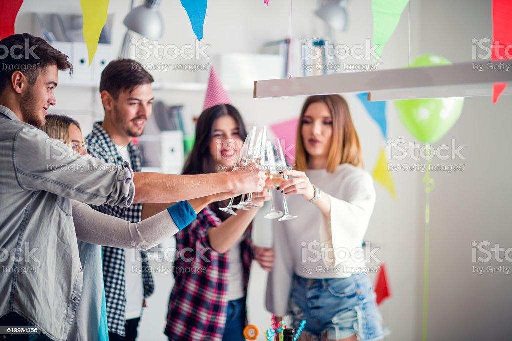 Happy birthday dear stock photo