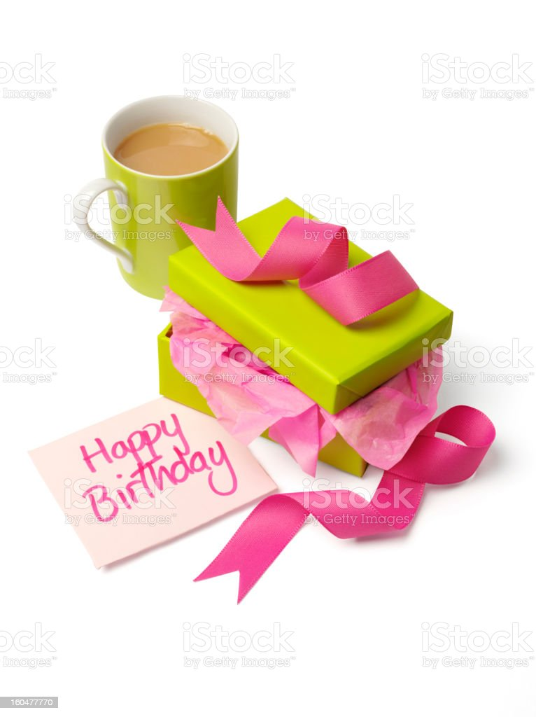 Happy Birthday Gift royalty-free stock photo