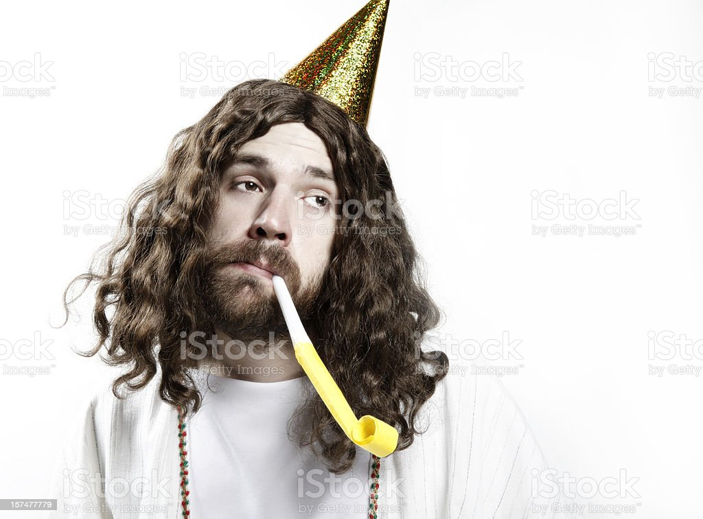 Happy Birthday Jesus royalty-free stock photo