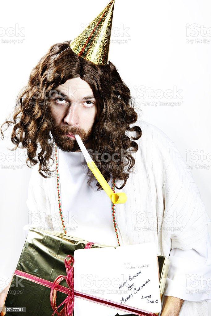 Happy Birthday Jesus royalty-free stock photo