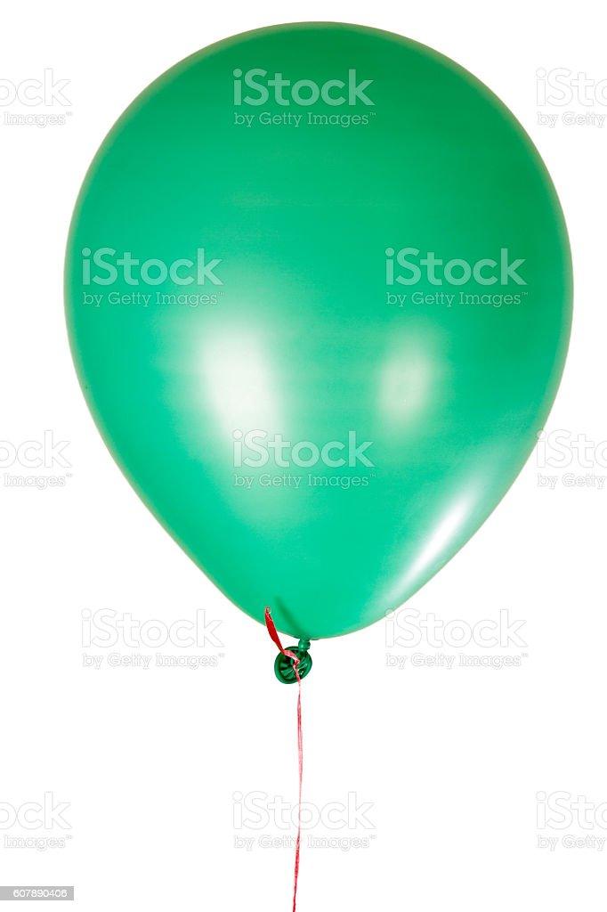 Happy Birthday party balloon decoration stock photo