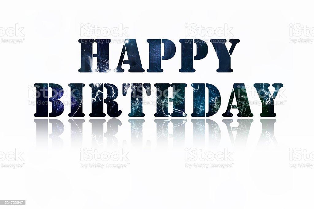 Feliz cumpleaños foto de stock libre de derechos