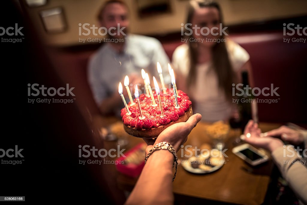 Happy birthday to you! stock photo