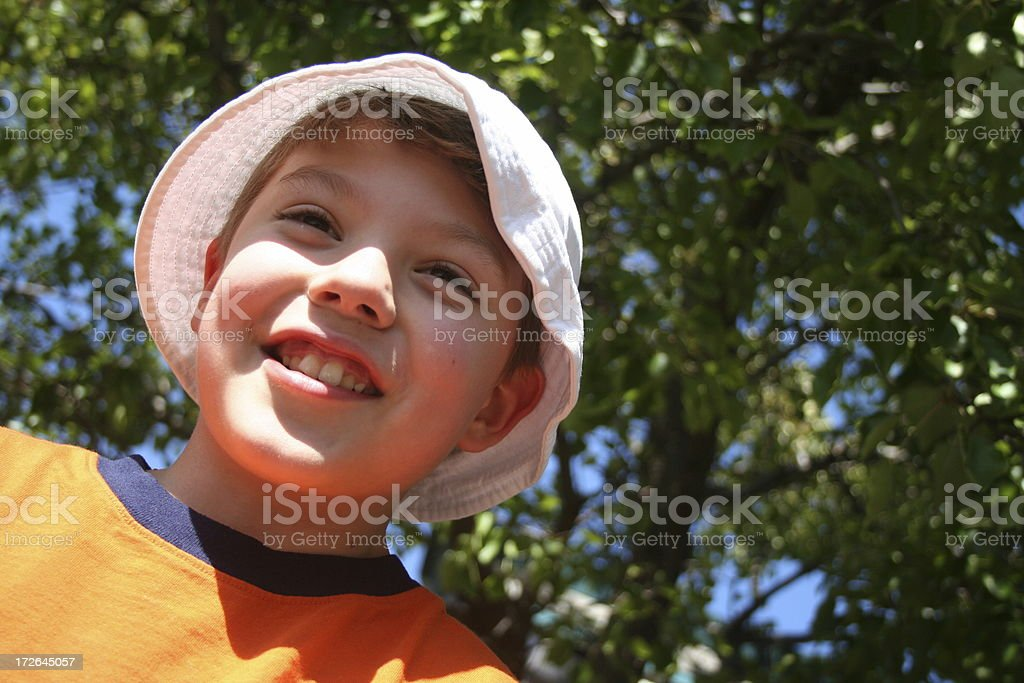 happy boy 2 royalty-free stock photo
