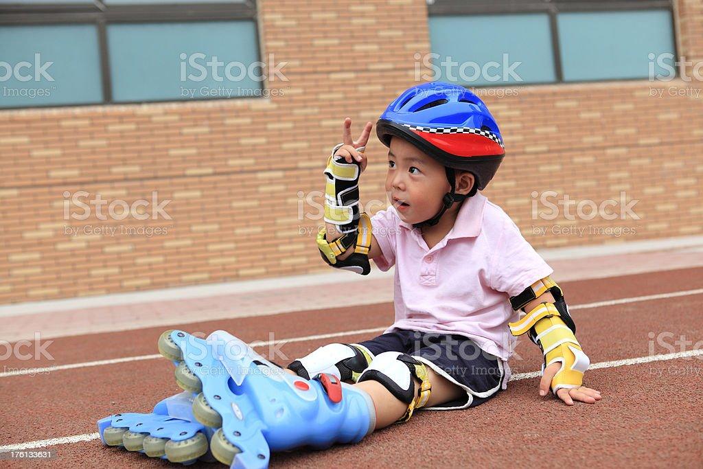 happy boy royalty-free stock photo