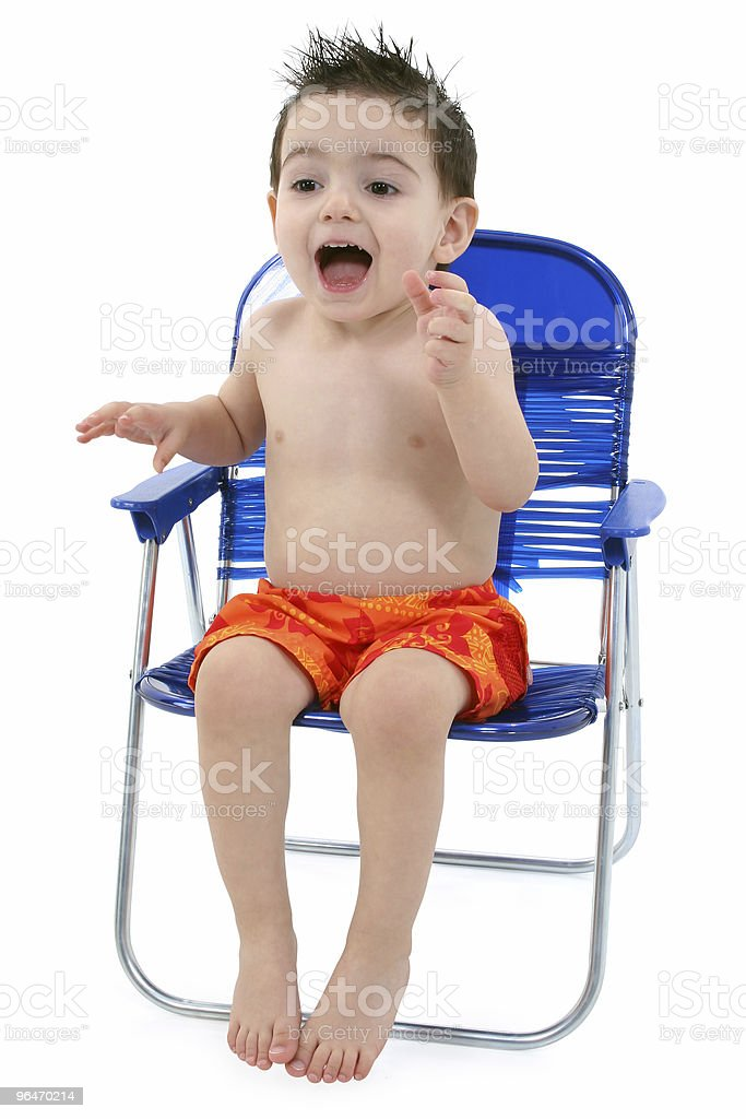 Happy Boy with Clipping Path royalty-free stock photo