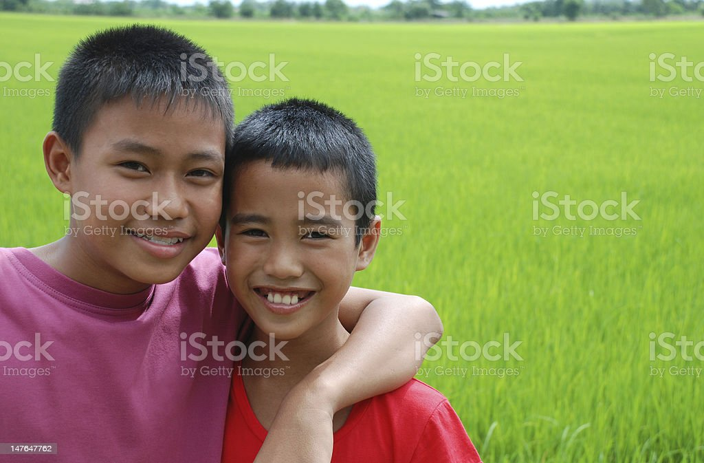 Happy boys (series) royalty-free stock photo