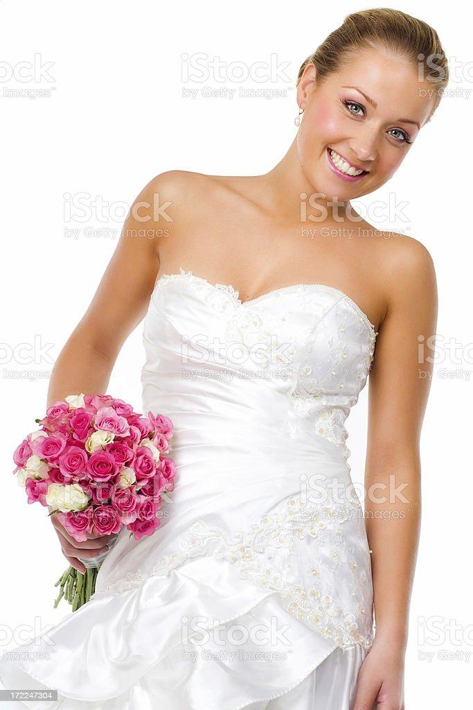 Happy Bride royalty-free stock photo