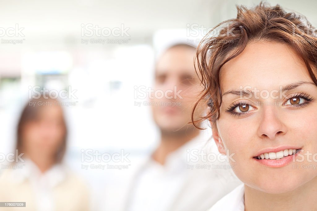 Happy business team work harmony at office royalty-free stock photo