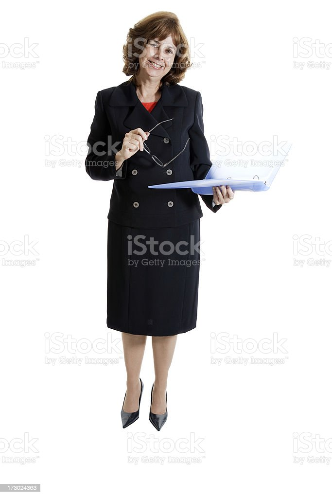 Happy Business Woman royalty-free stock photo