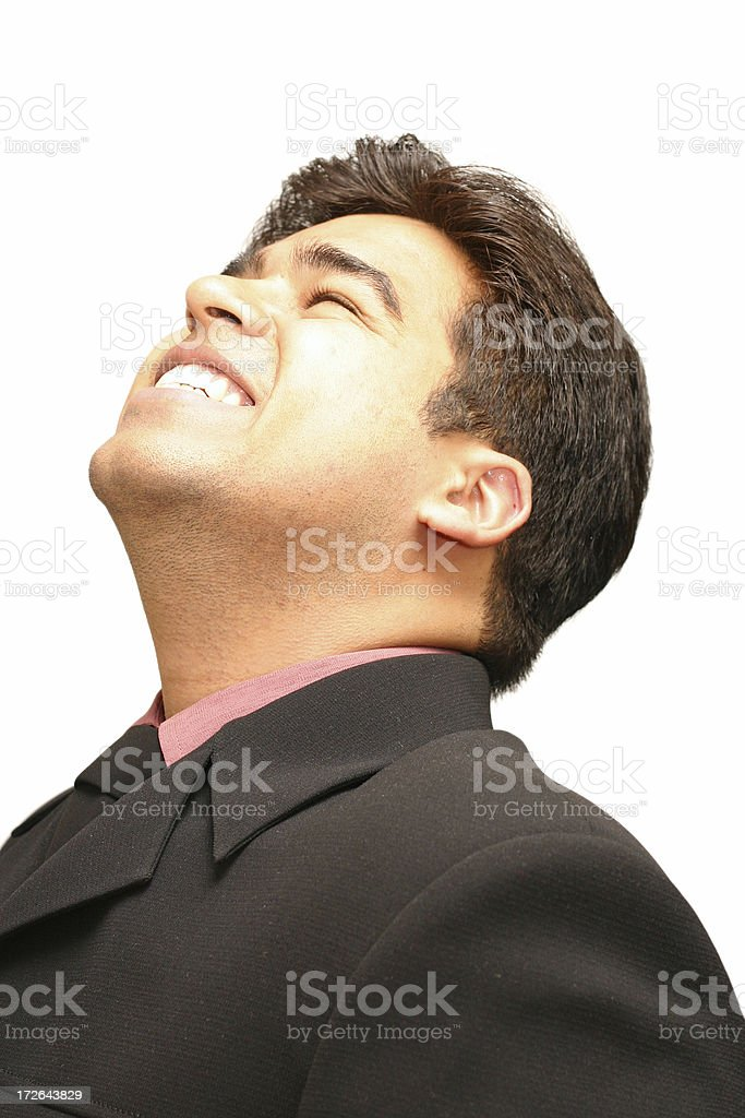 Happy Businessman !!! royalty-free stock photo