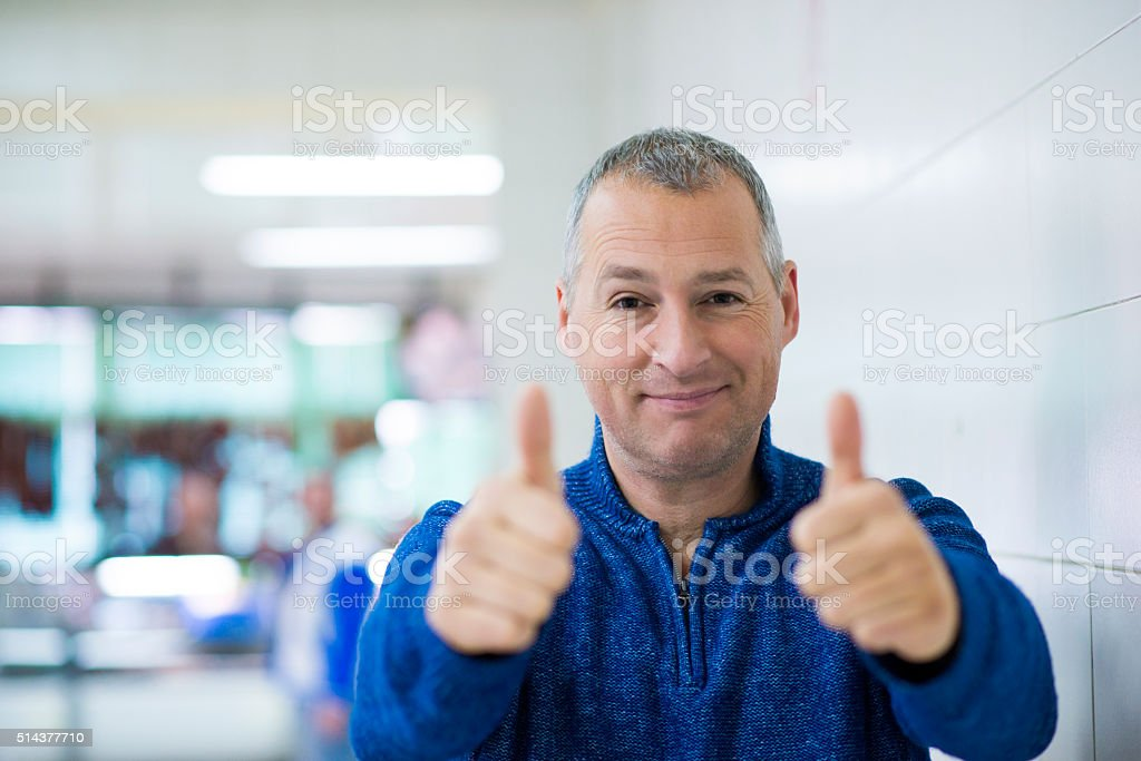 Happy Businessman-It's great success stock photo