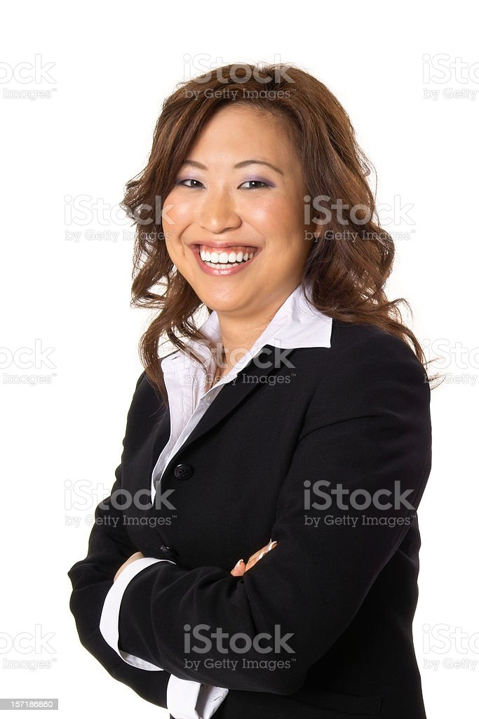 Happy Businesswoman royalty-free stock photo
