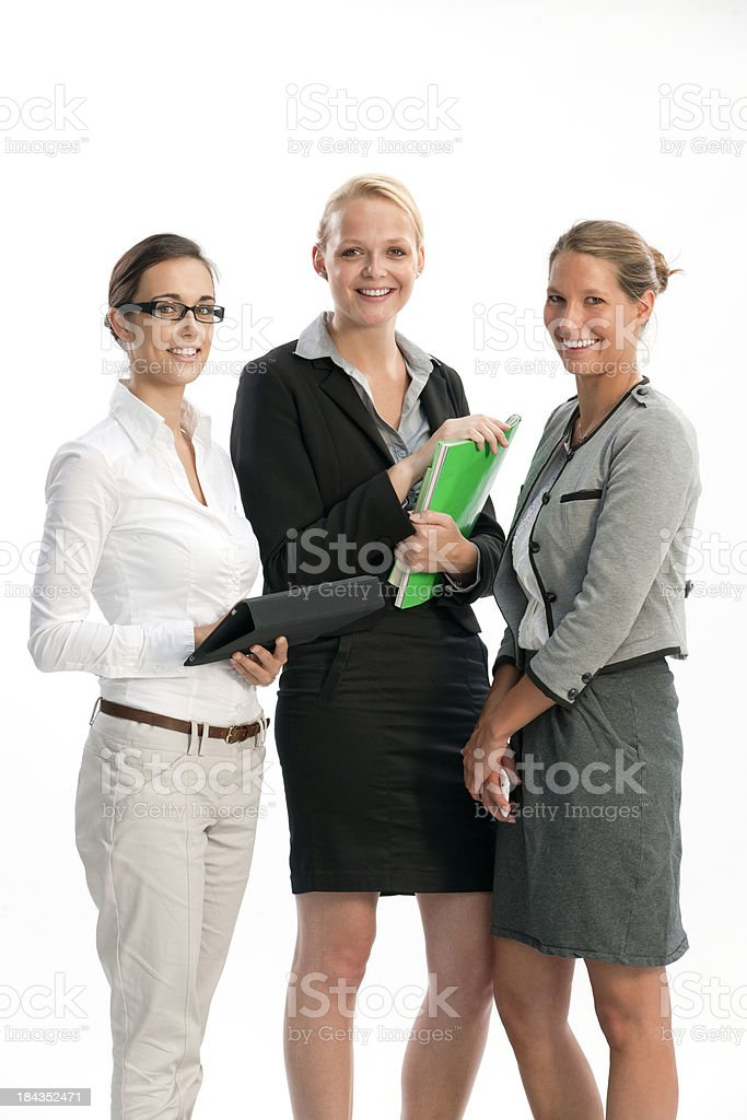 'happy  businesswomen, XXXL image' stock photo