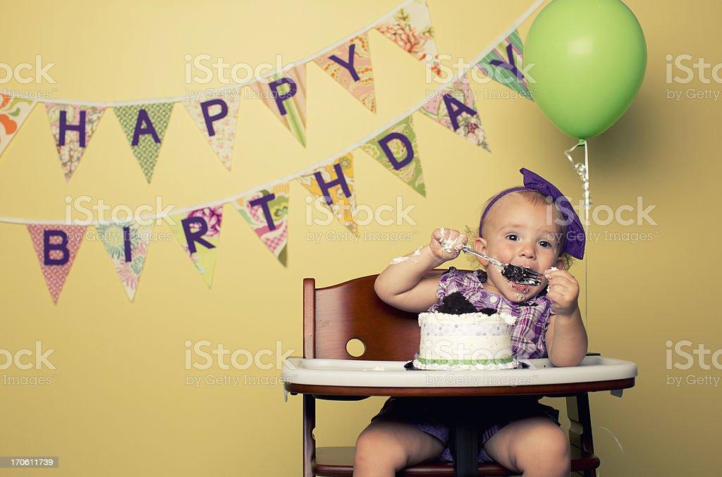 Happy Cake stock photo