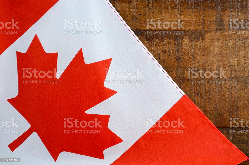 Happy Canada Day Canadian Flag stock photo