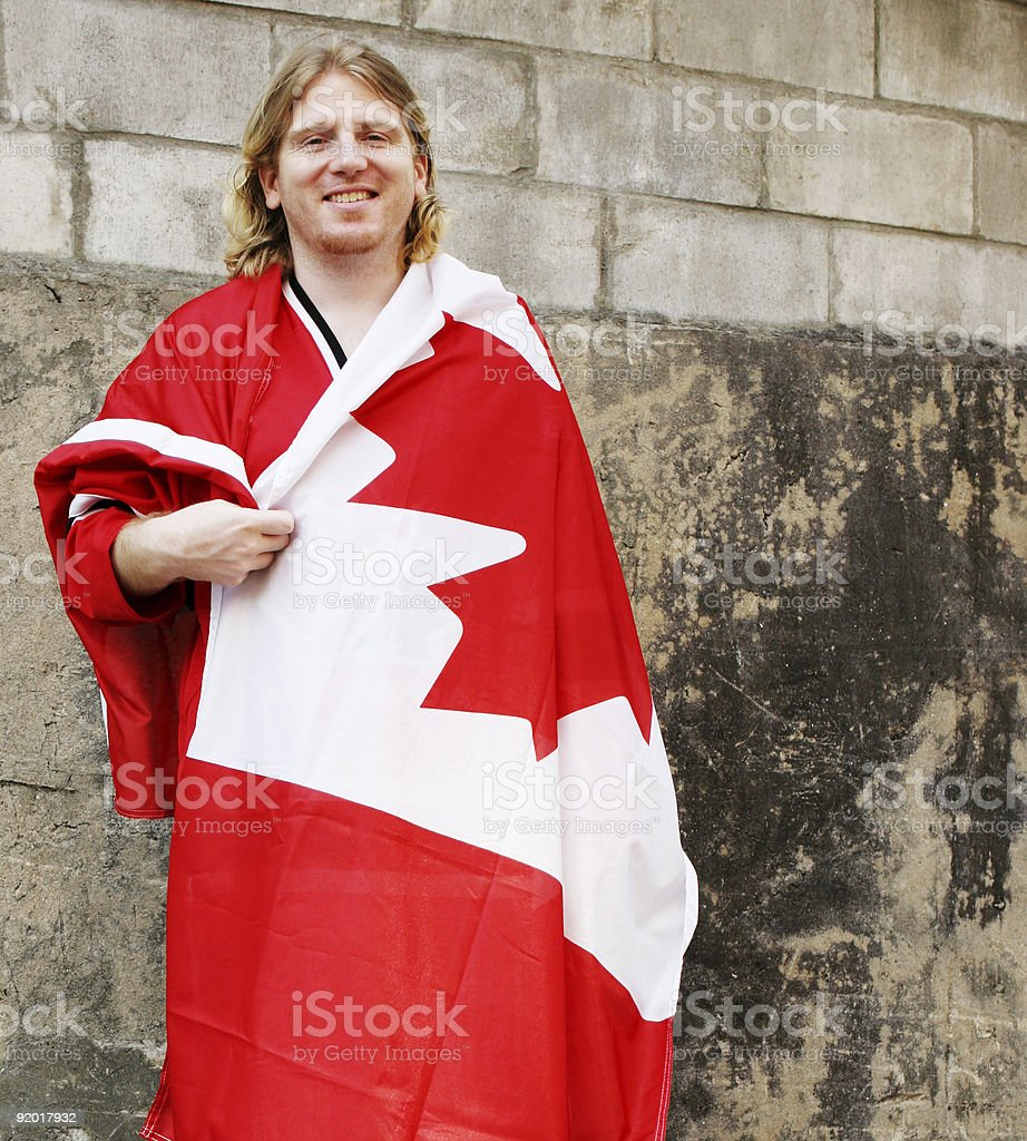 Happy Canada Day royalty-free stock photo